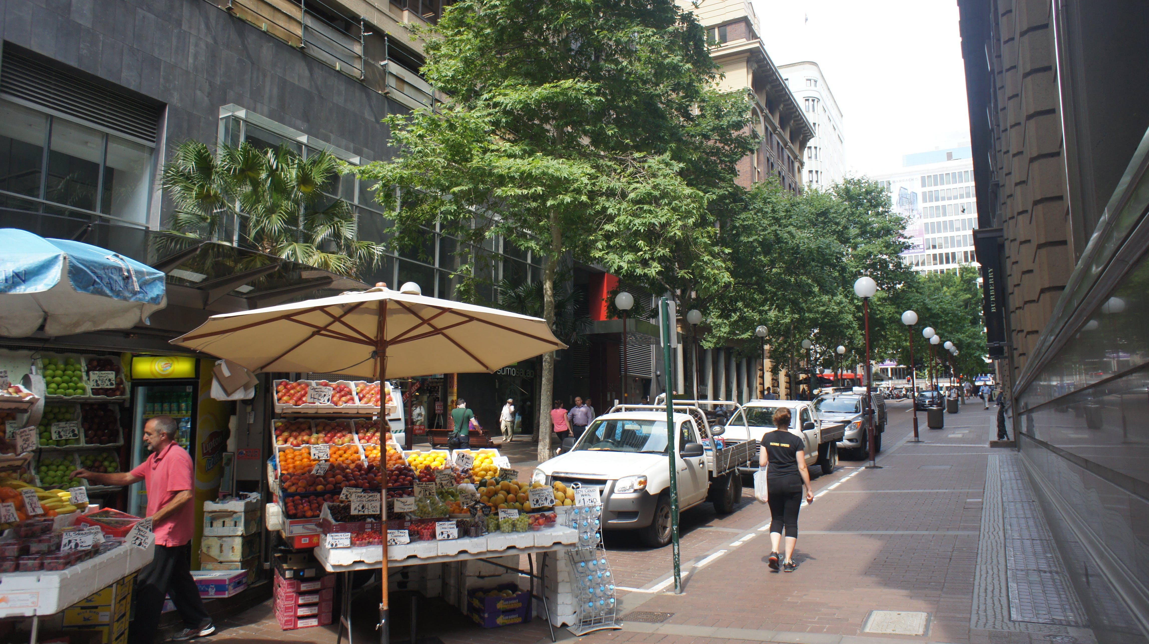 Barrack Street - existing