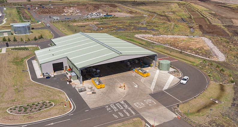 The Greater Toowoomba Waste Management Facility at Wellcamp.