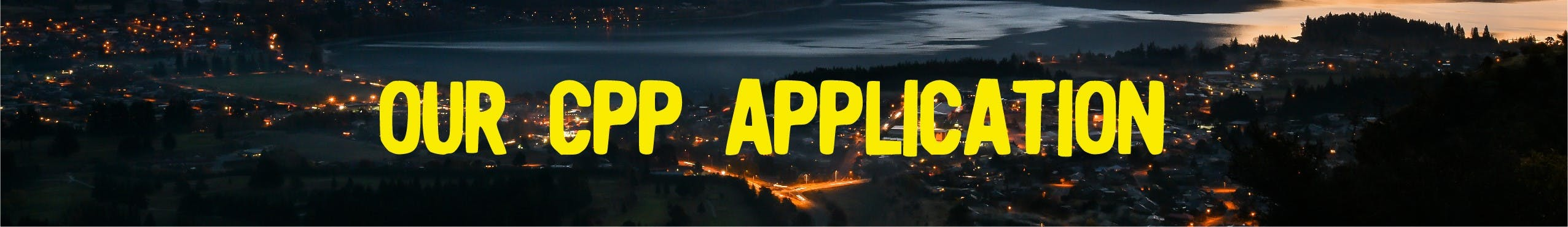 Our CPP Application