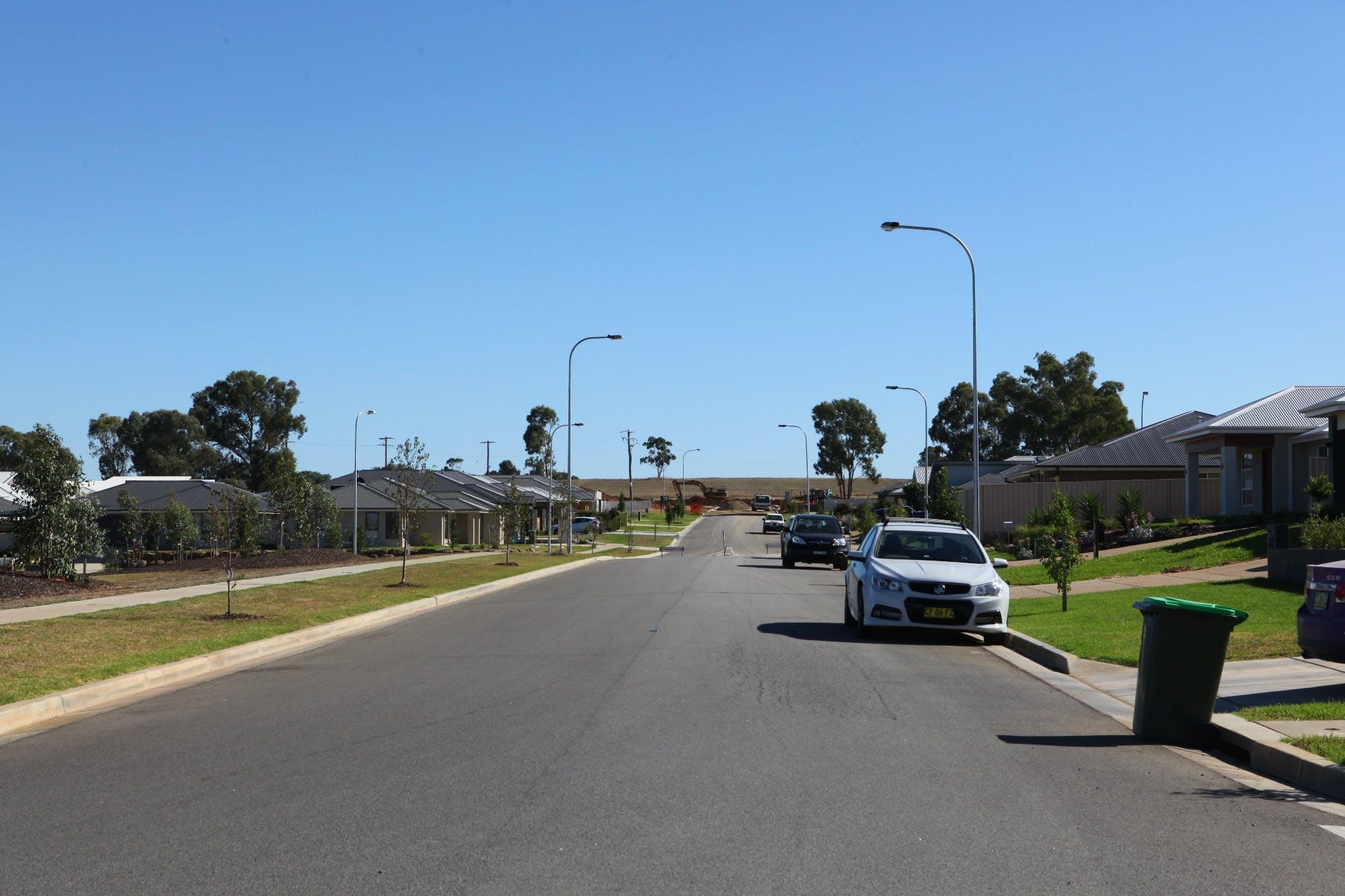 Example of a medium street