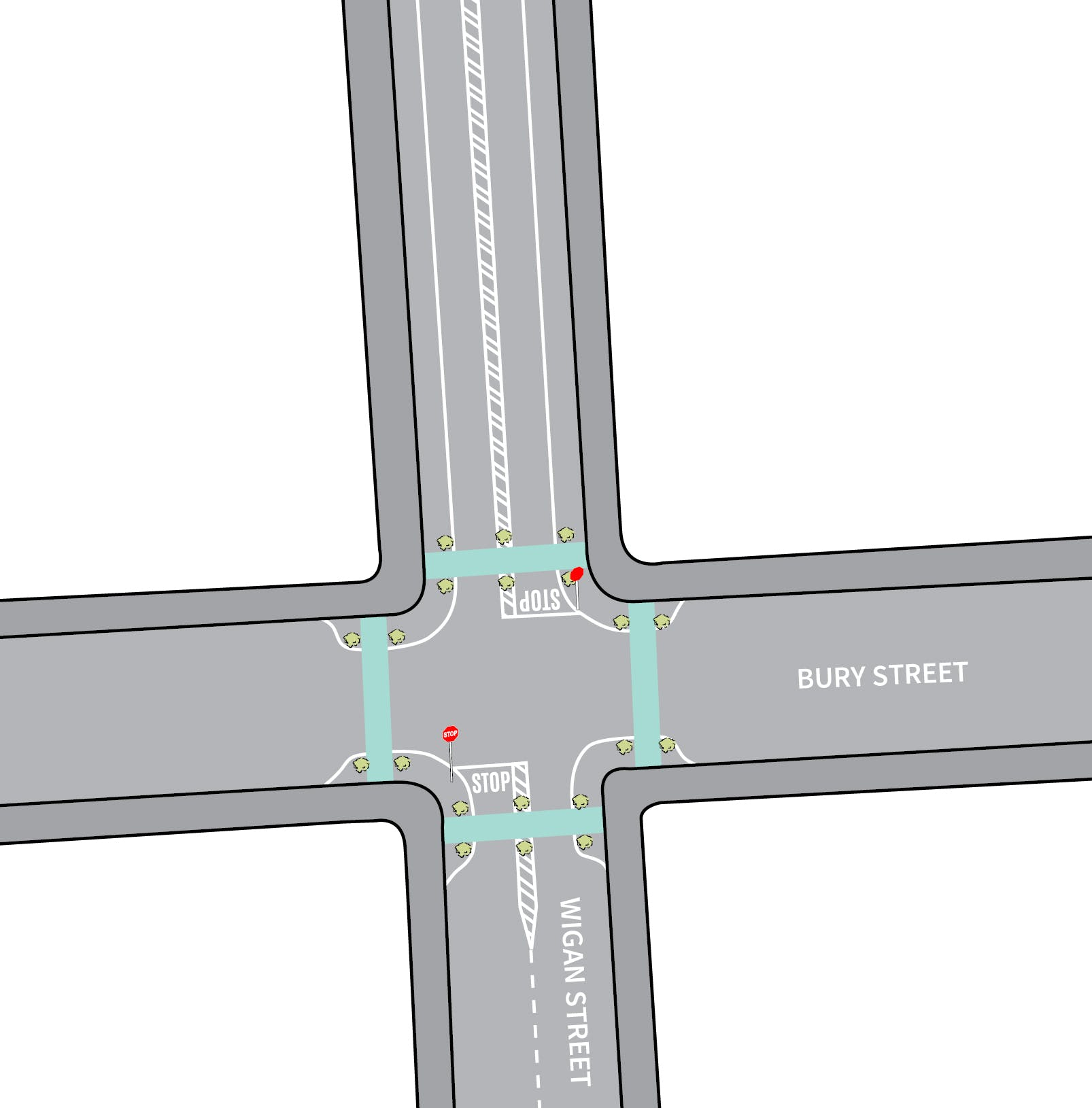Intersection Priority Changes