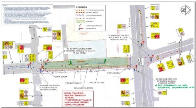 Kyren Group.Traffic Management Plan. Daytime