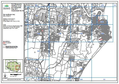 Site Identification Map 010 And 013