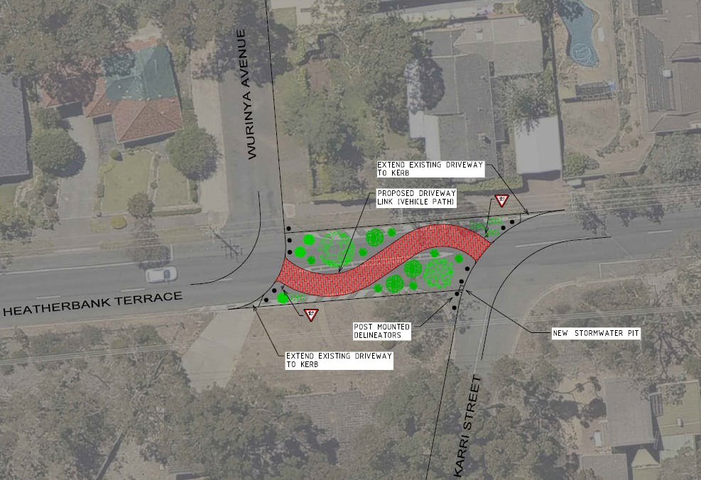 Driveway Entry Link Plan