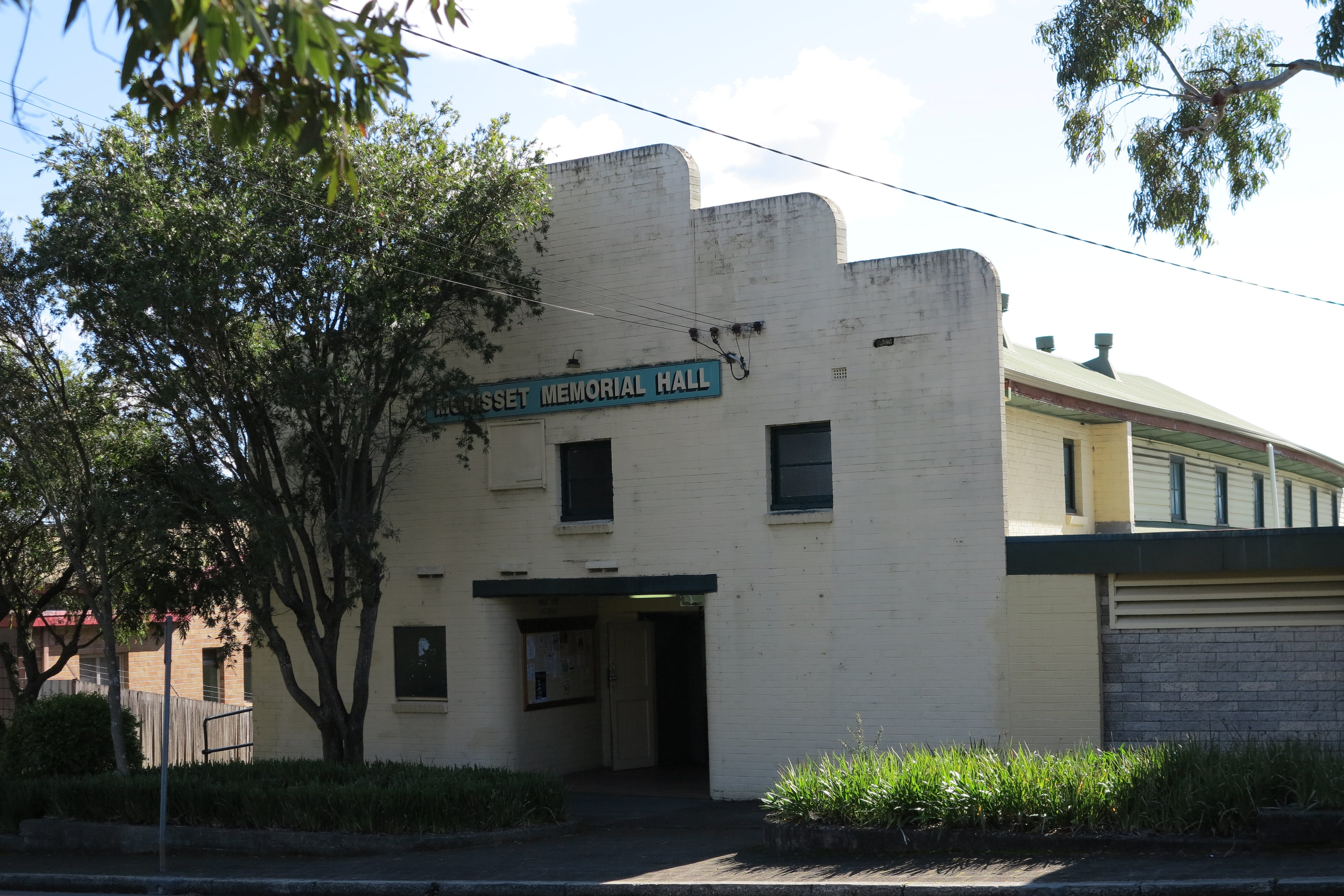 Morisset Memorial Hall