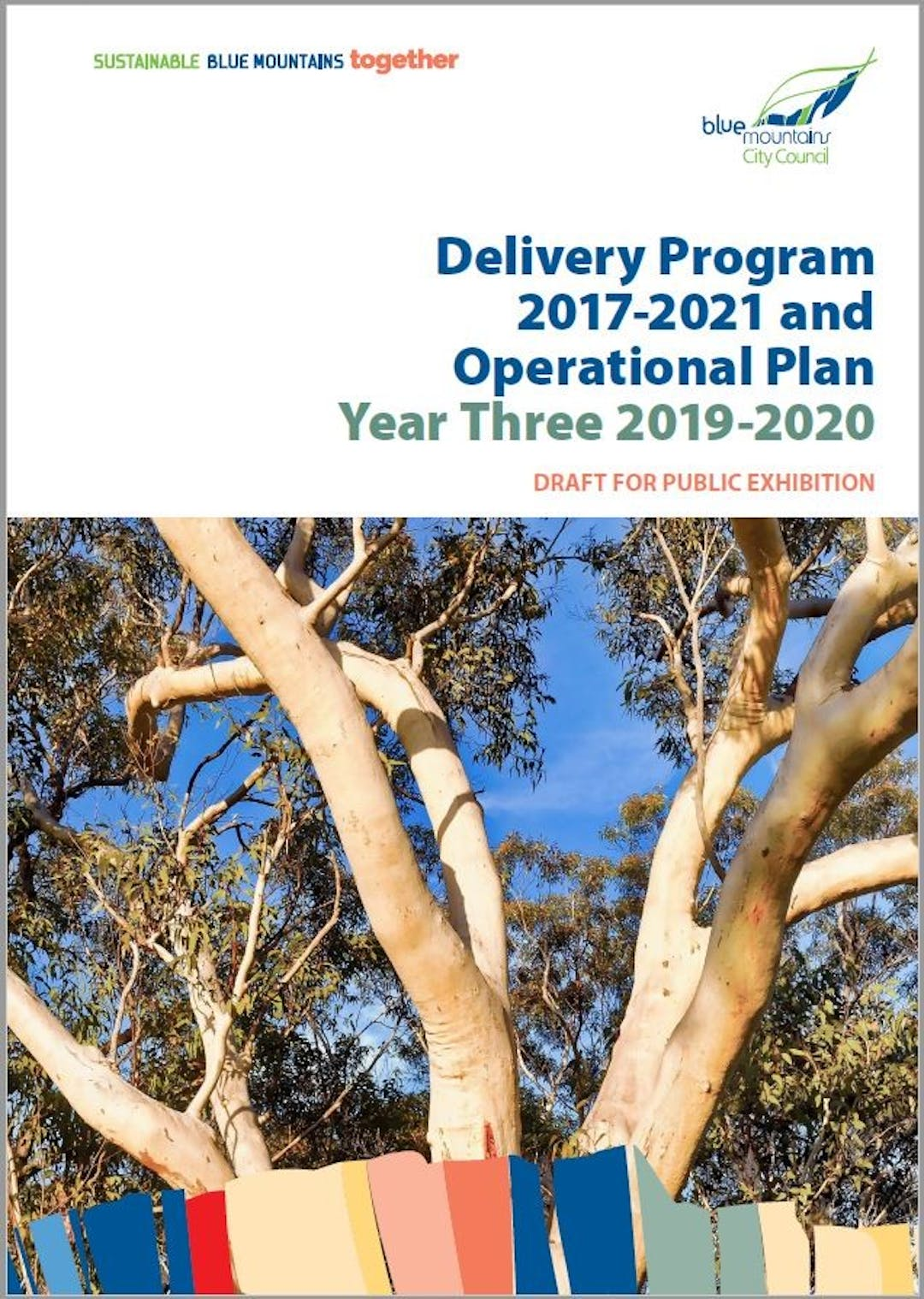Cover image for Draft Delivery Program 2017-2021 and Operational Plan 2019-2020