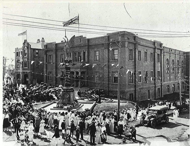 Marrickville Town Hall Opening Ceremony 1922
