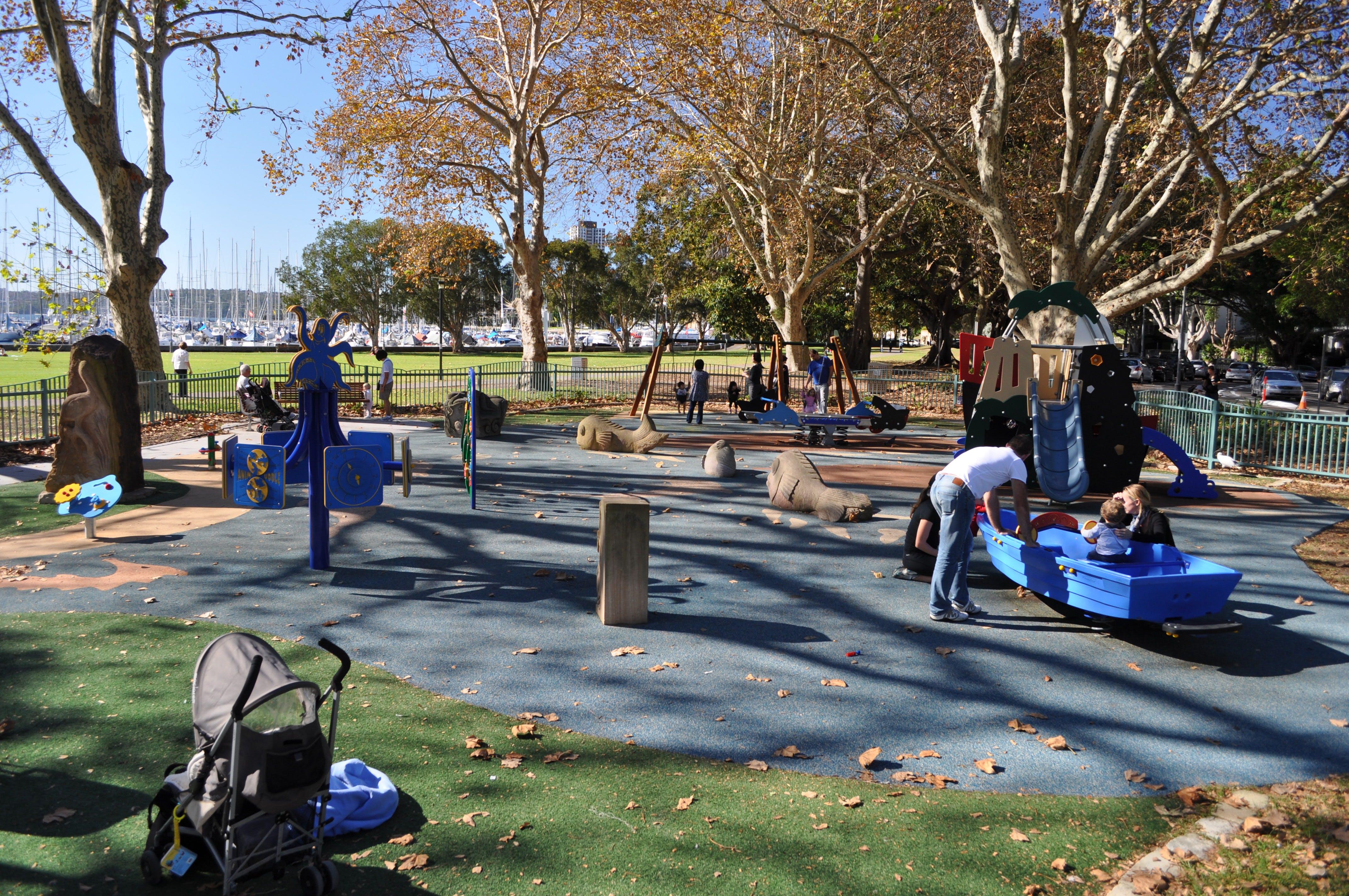 Rushcutters Bay Park Playground