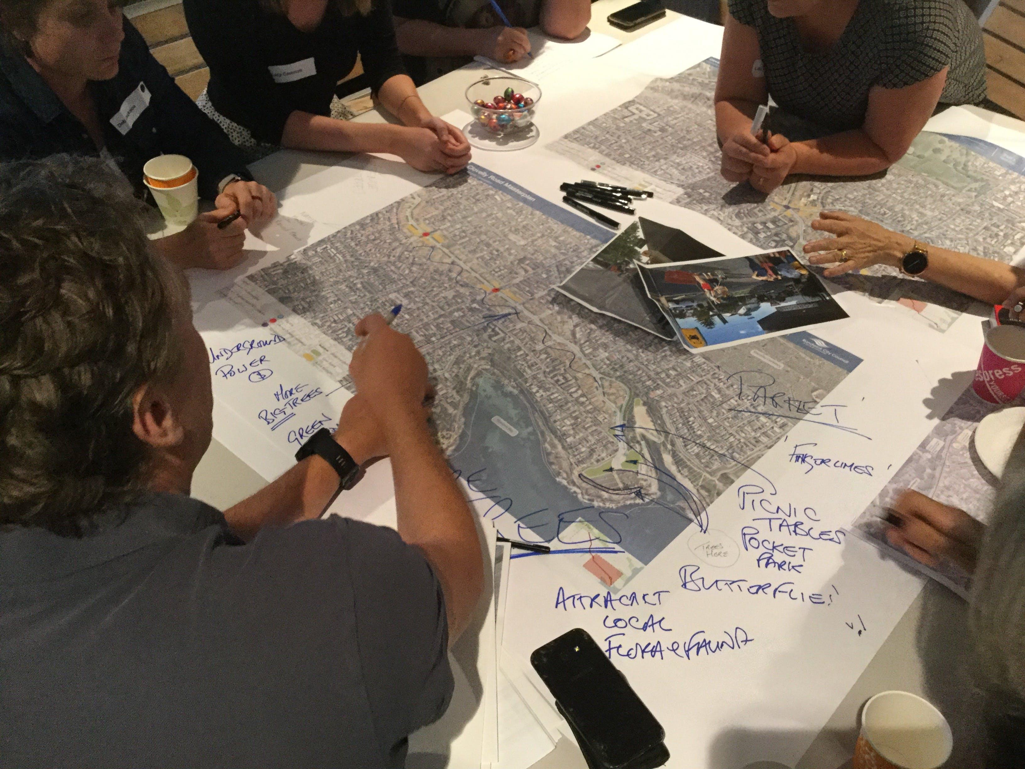 Clovelly Road Masterplan community workshops 2019