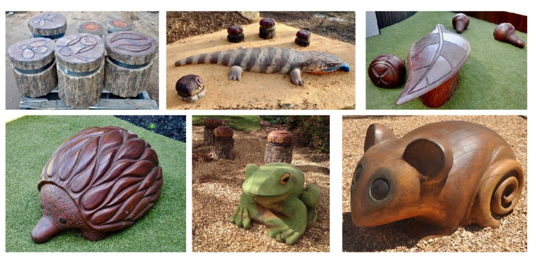 Nature play critters