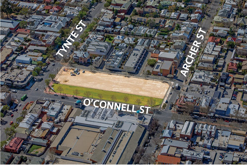Eighty Eight O Connell Activation EOI Leasehold Area