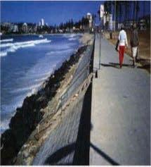Seawall example