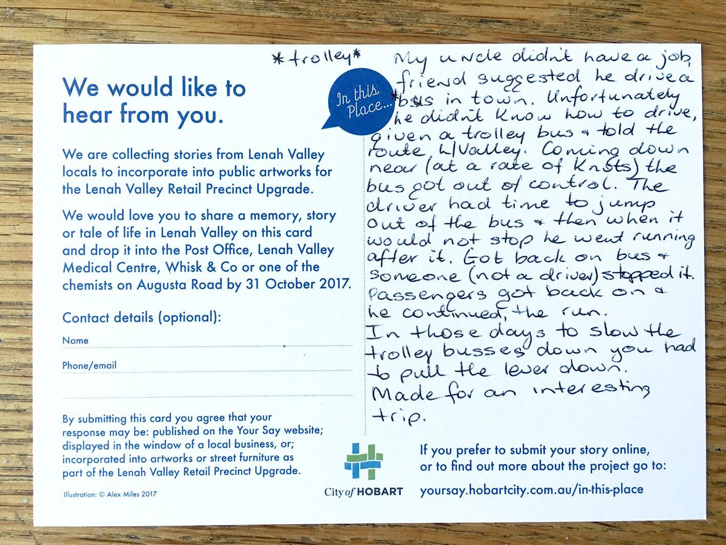 Lv Postcard Runawaytrolley