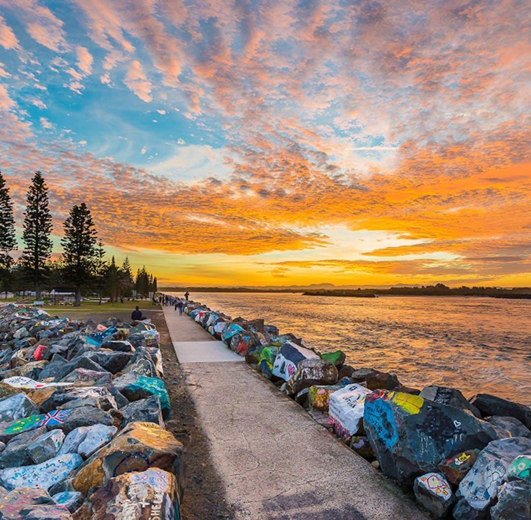 Breakwall, Port Macqaurie