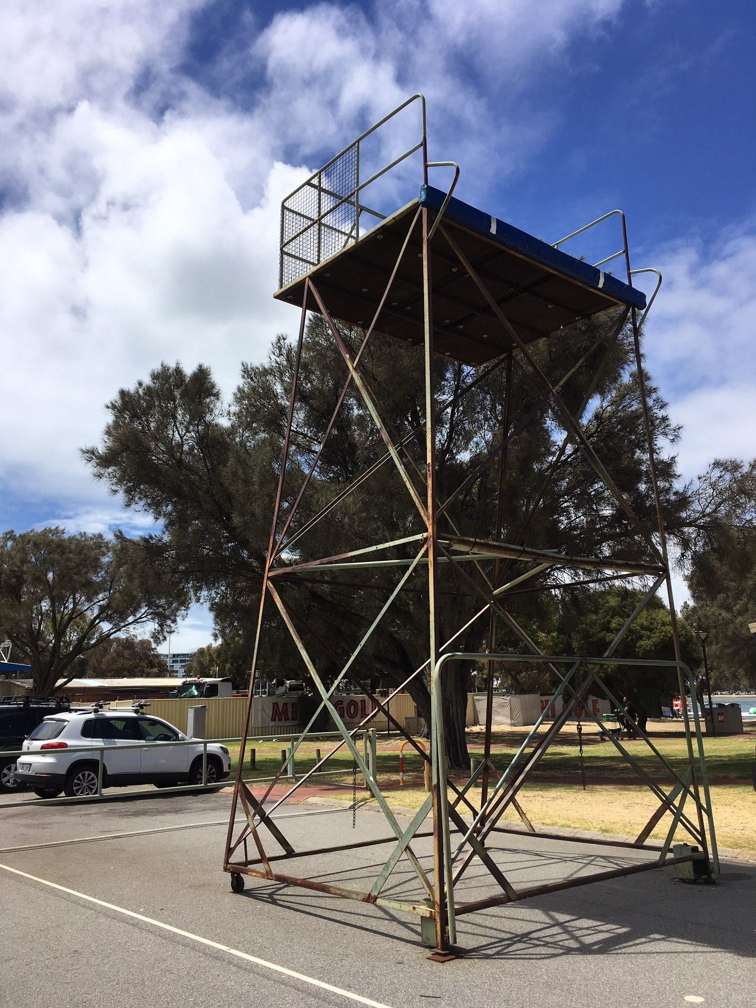 Existing Ladder Stand - Western Foreshore
