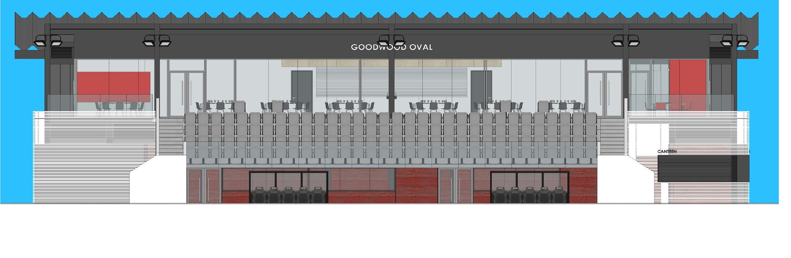 Concept Image of Goodwood Oval front view