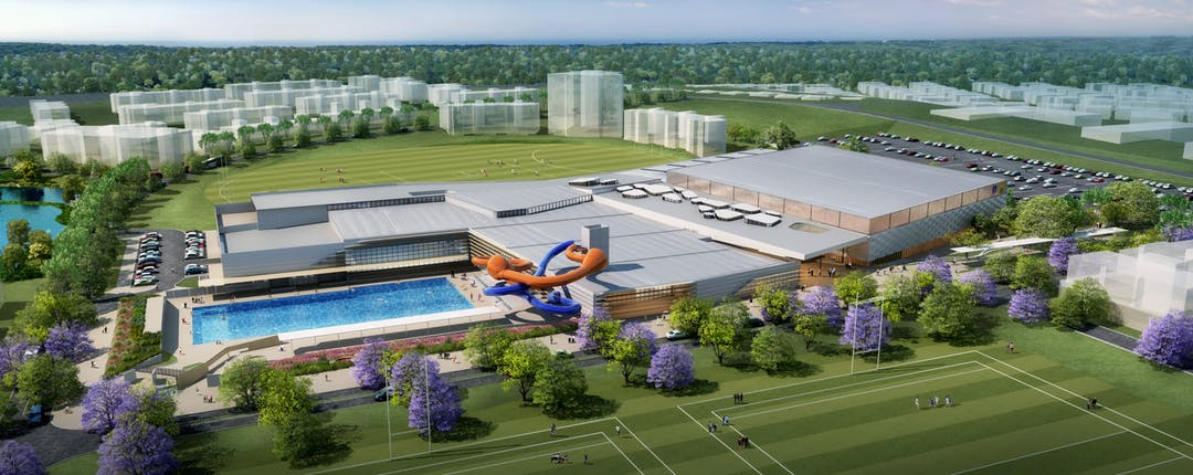 NEW Recreation & Aquatic Facility - Artists Impression