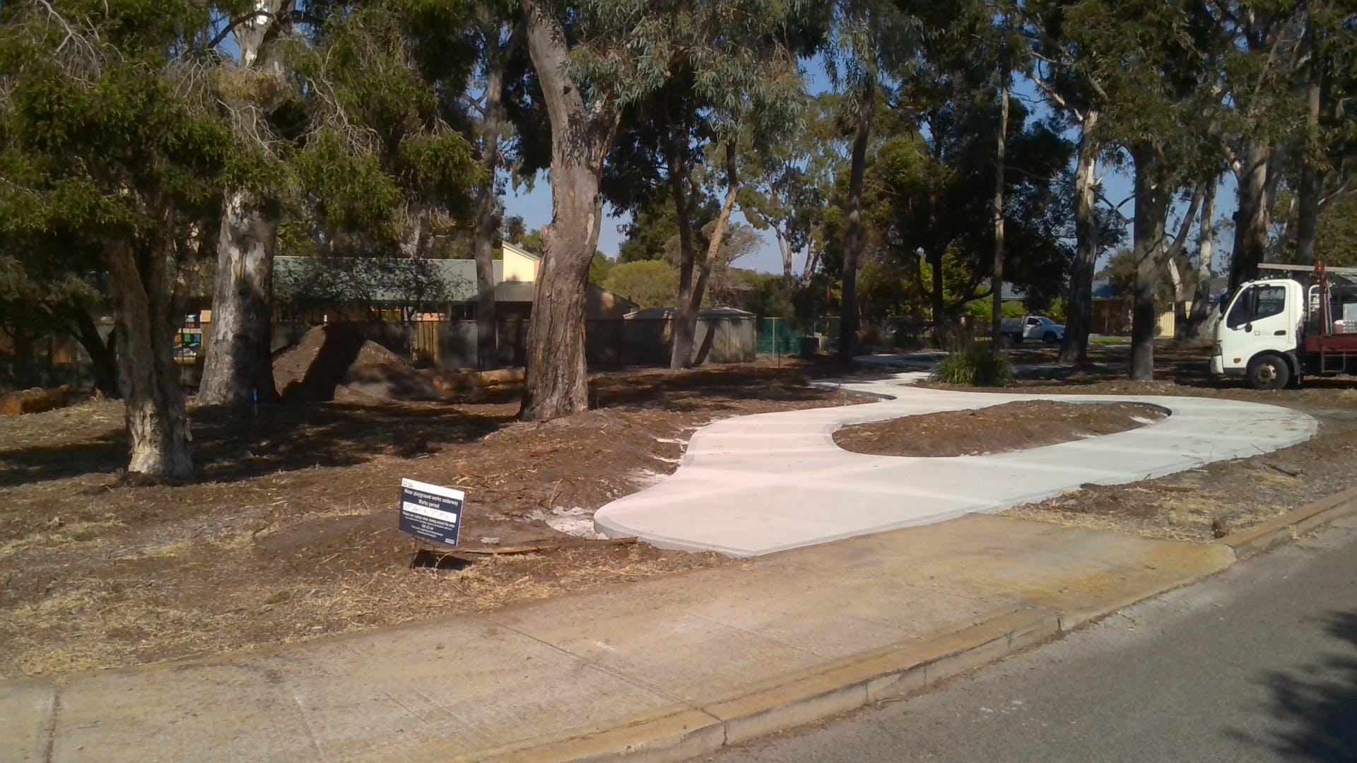 Hares Park upgrade works 5