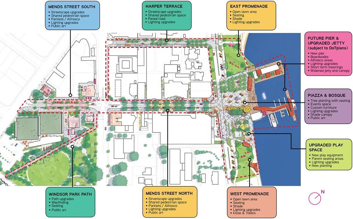 Masterplan Concept Design Area Overview