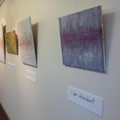 Bridie's Exhibition - WSC foyer gallery