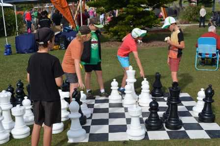 Rainbow Beach Playground Chess Opening