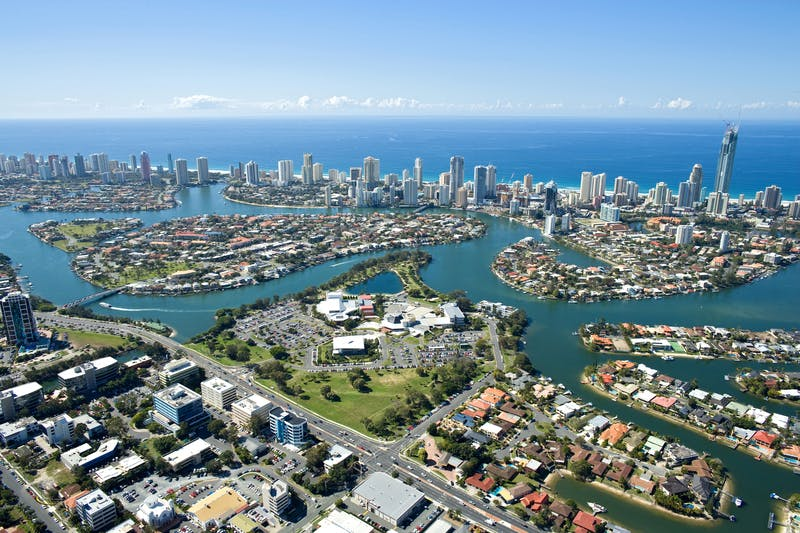 Gold Coast Cultural Precinct and Wider Area