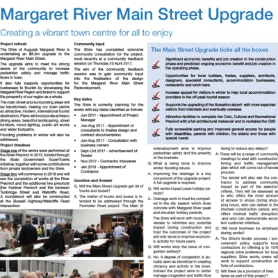 Main Street Fact Sheet - June 2017