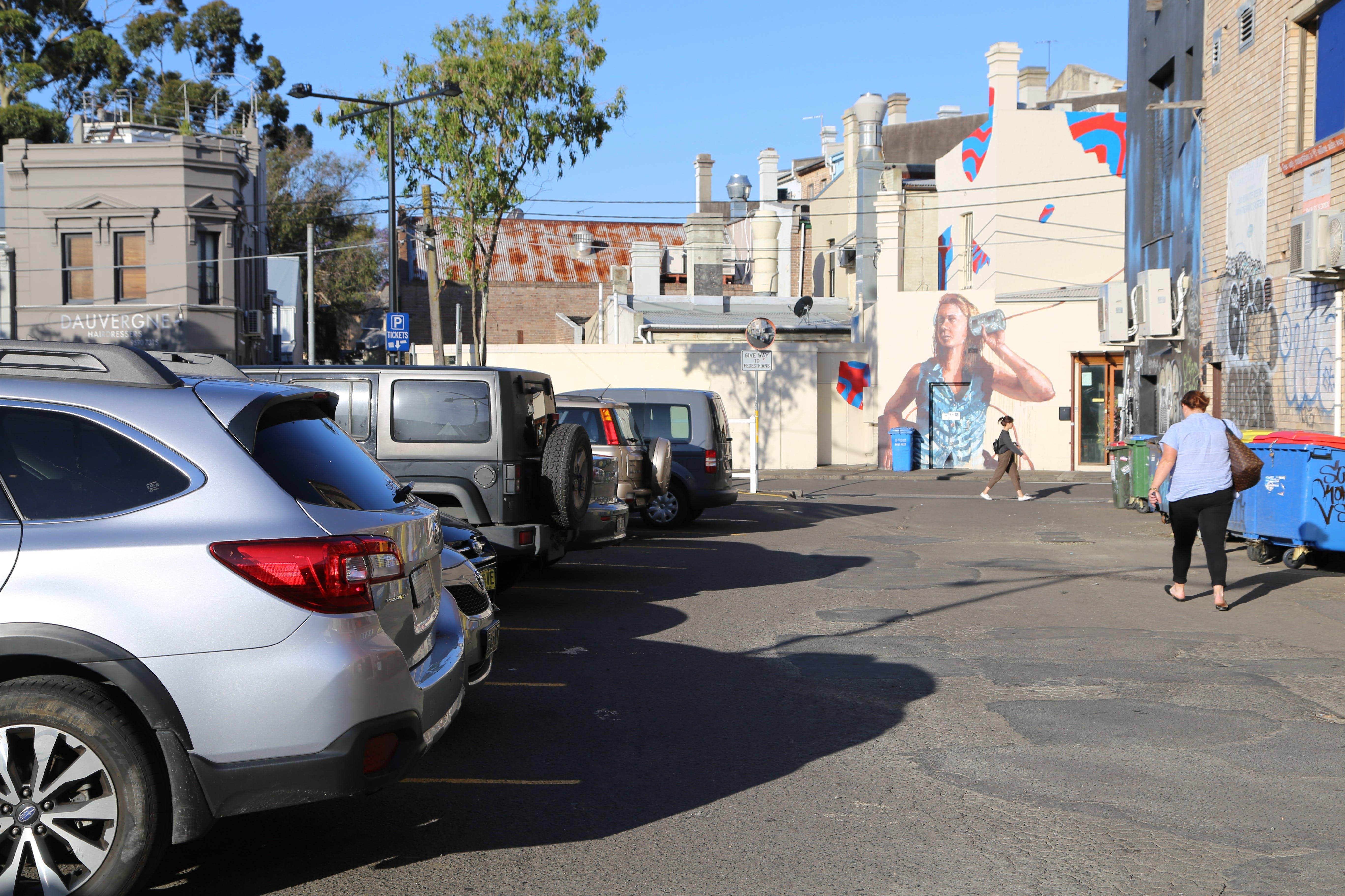 Lennox Street Carpark