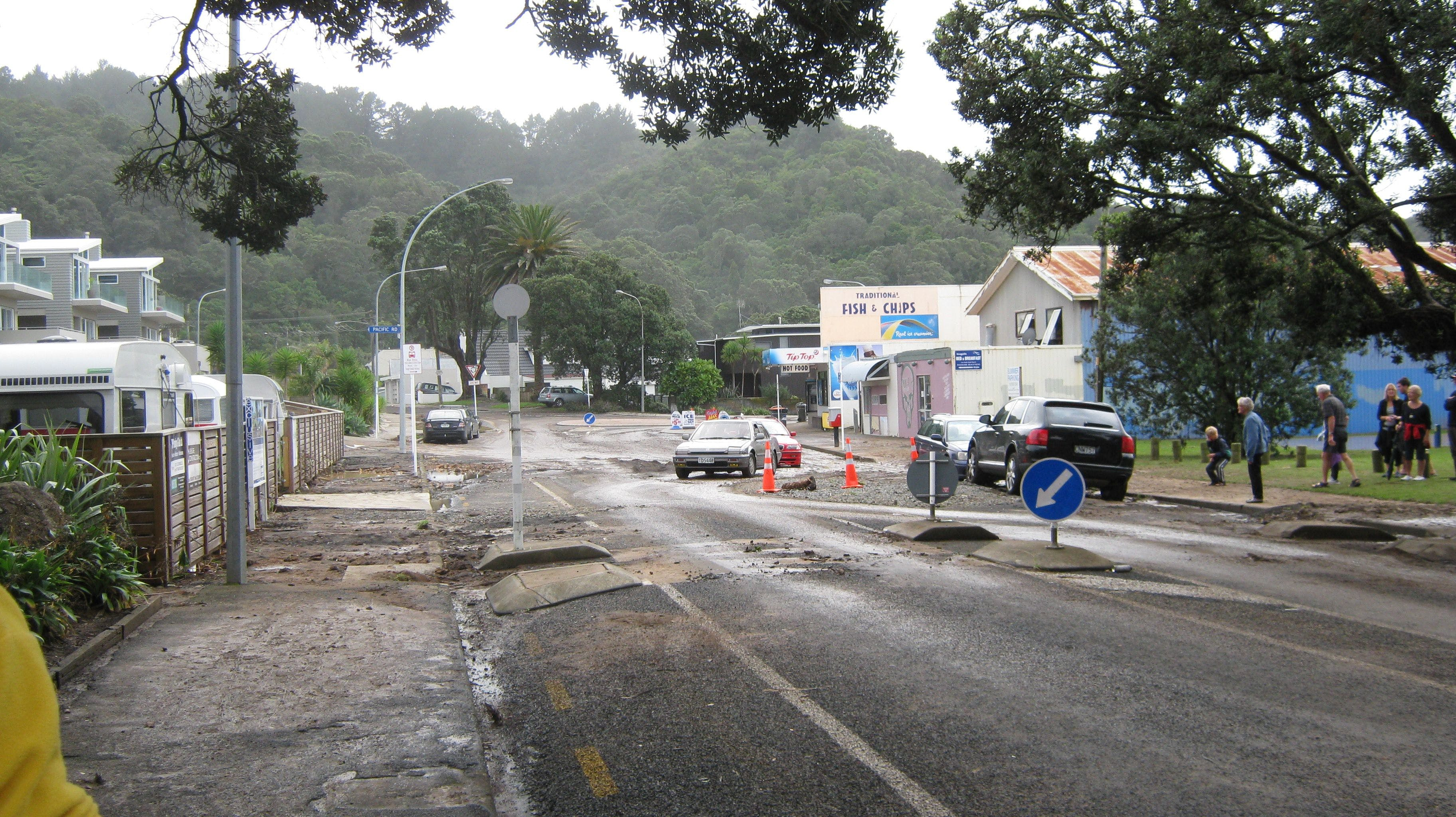 Flooding In The Street