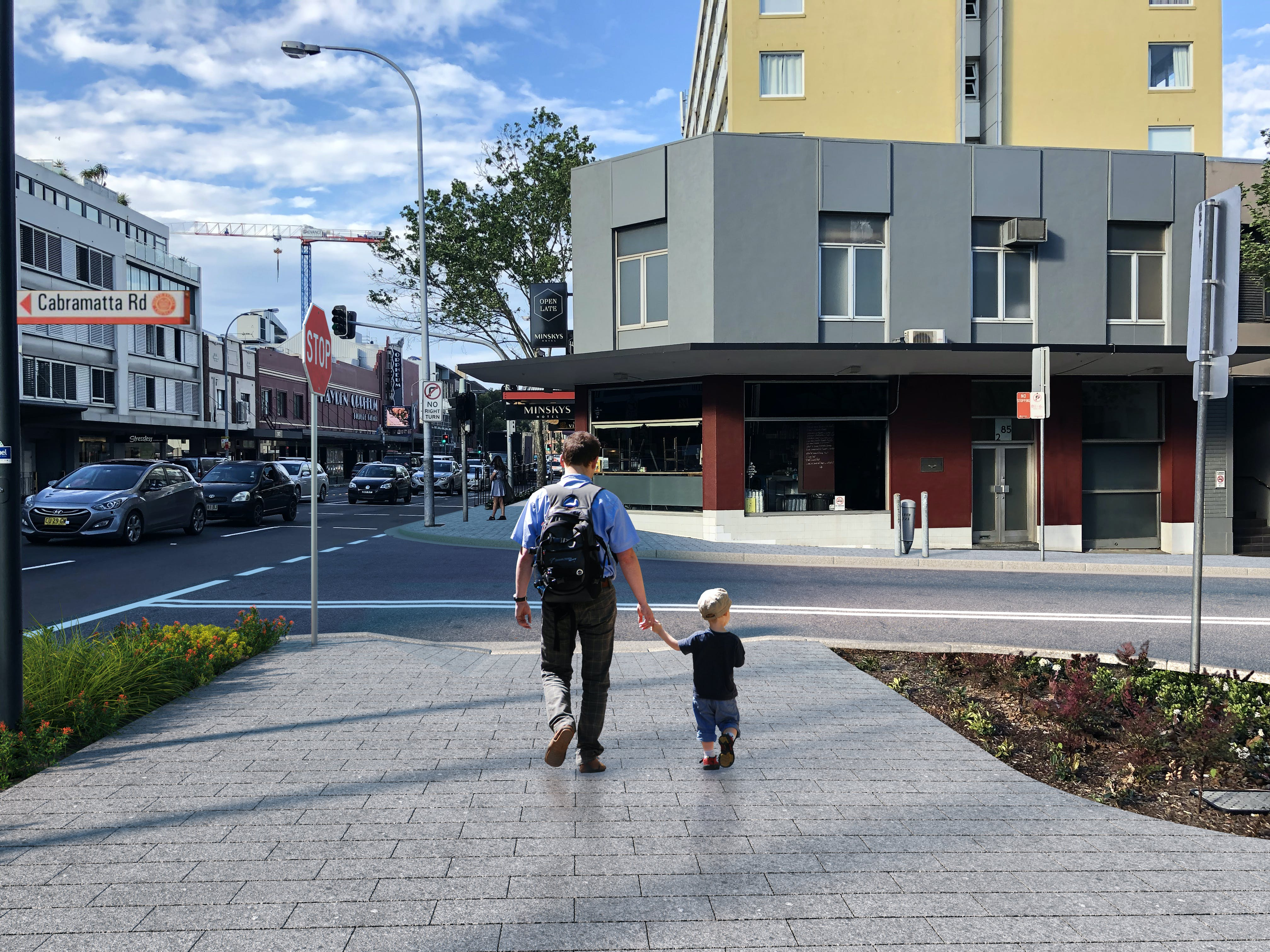 Cabramatta Road Option B - Photomontage, Street Level