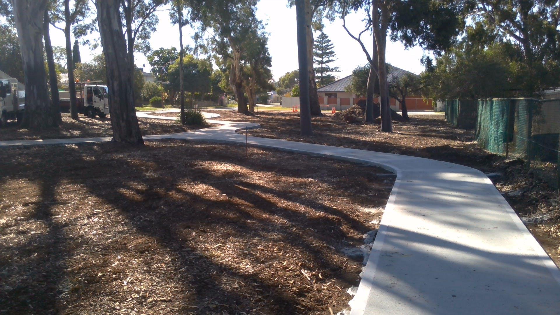 Hares Park upgrade works 6