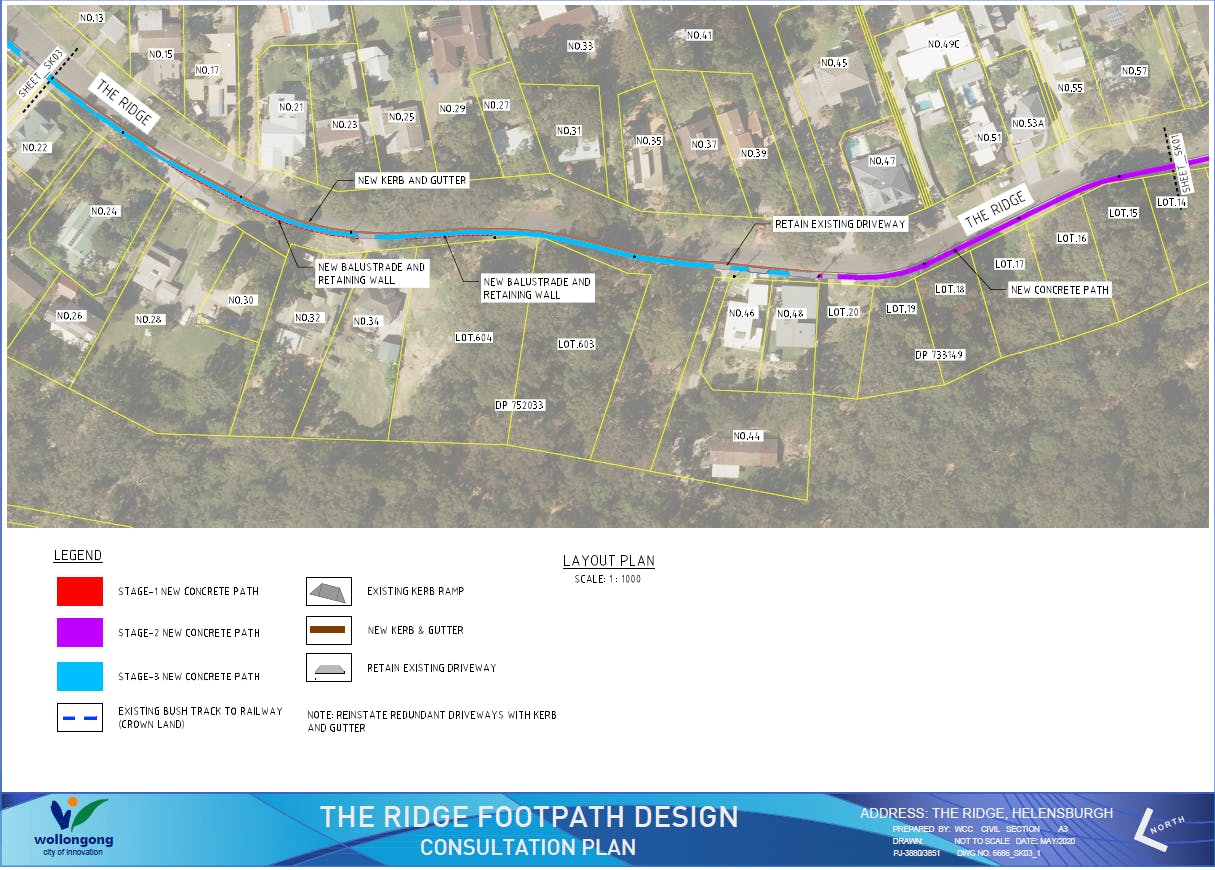 The Ridge Helensburgh - Consultation Plan Stage 3