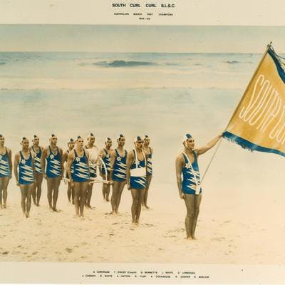 Surf Carnival South Curl Curl Life Saving Club 1965