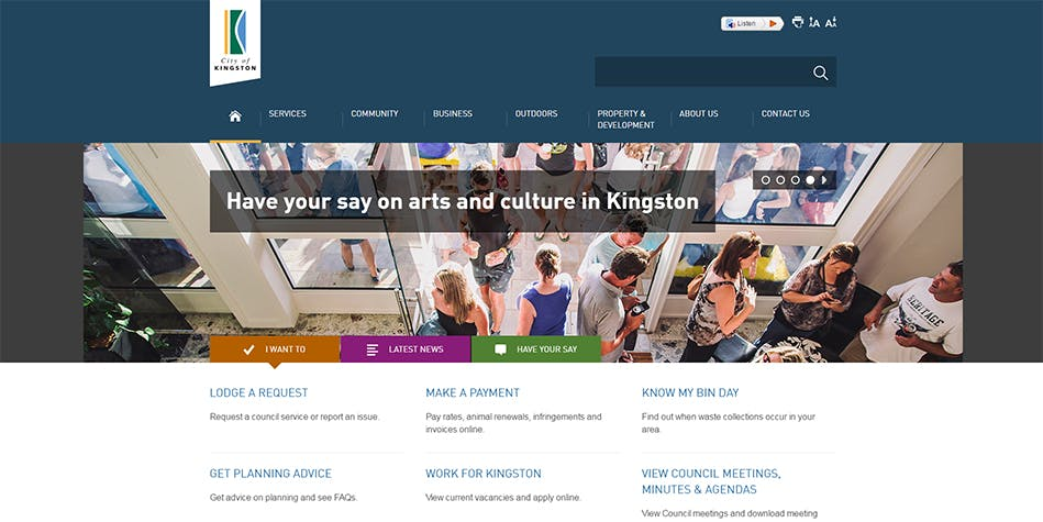 photo gallery help improve the city of kingston website your
