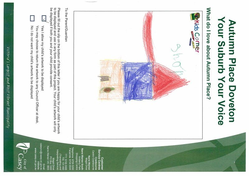 Joshua Attwood's picture aged 5