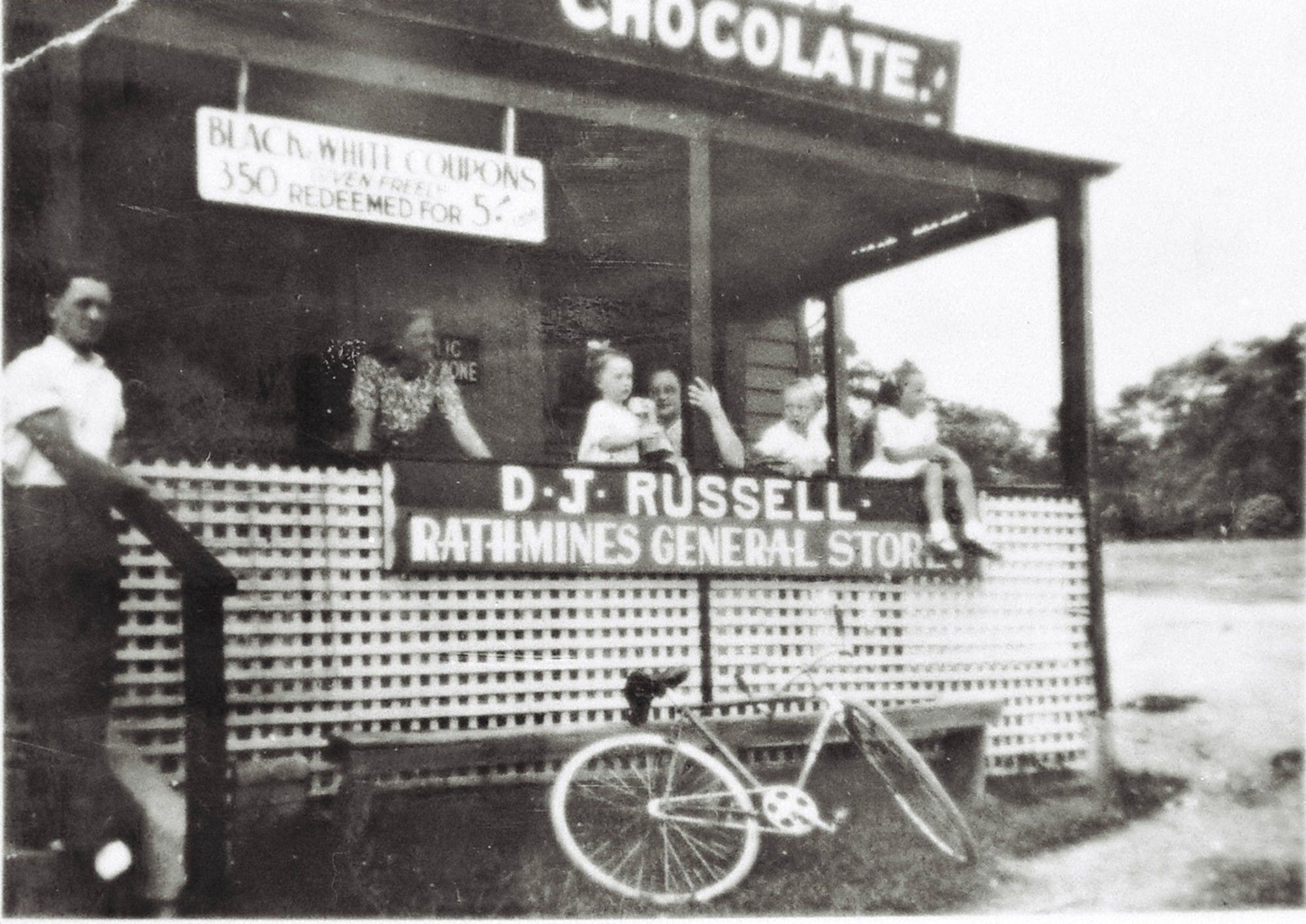 D.J Russell Rathmines General Store