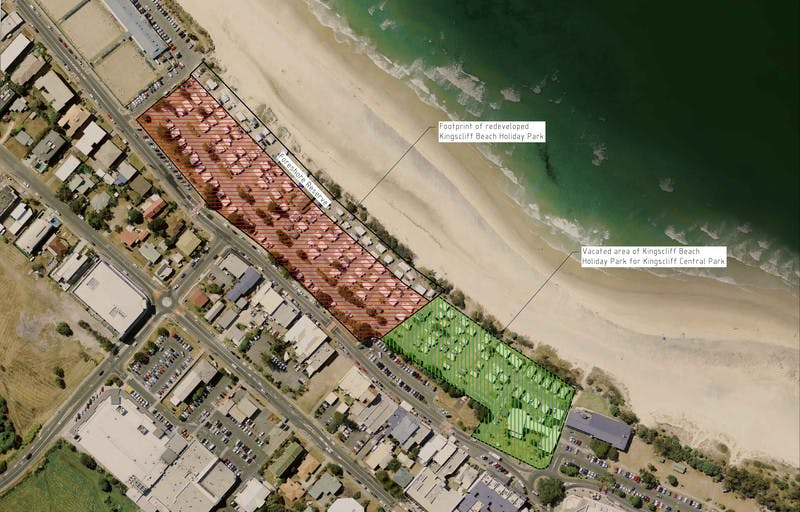 Step 2 - Redeveloping Kingscliff Beach Holiday Park