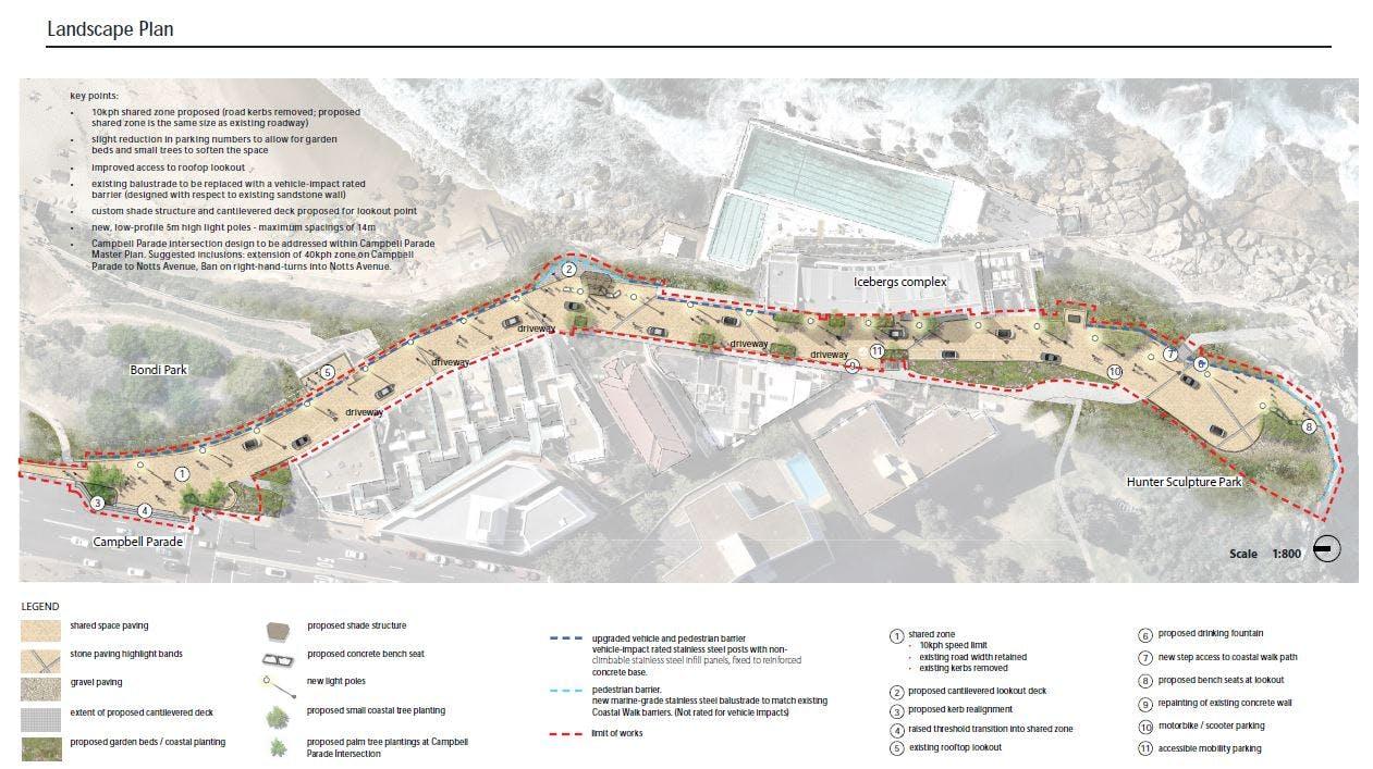 Final landscape concept plan
