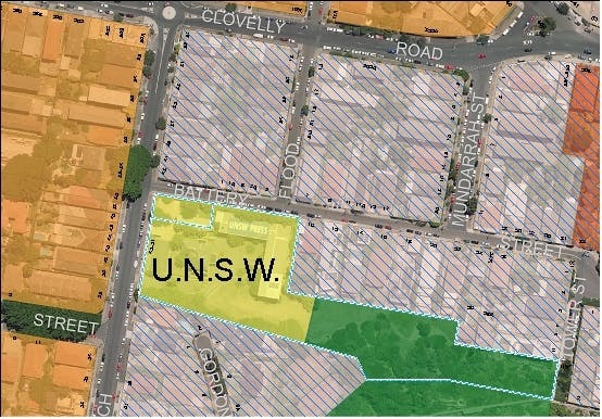 UNSW site at Coogee