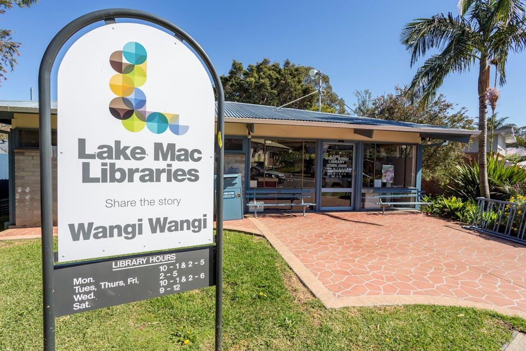 Wangi wangi library exterior