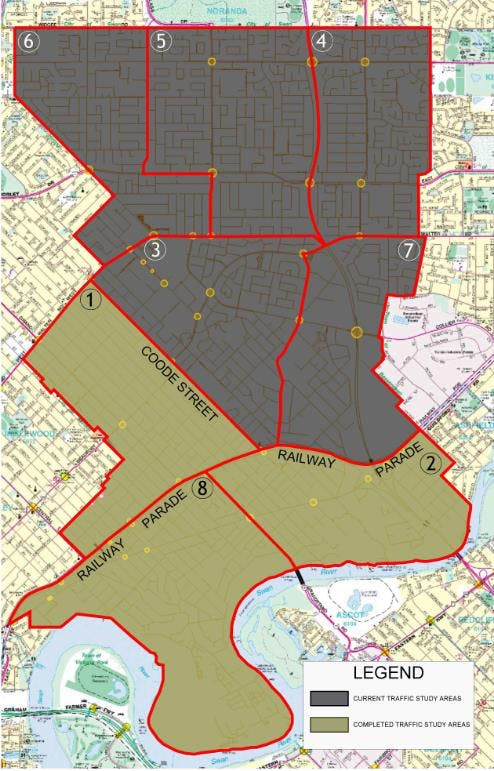 Precincts map