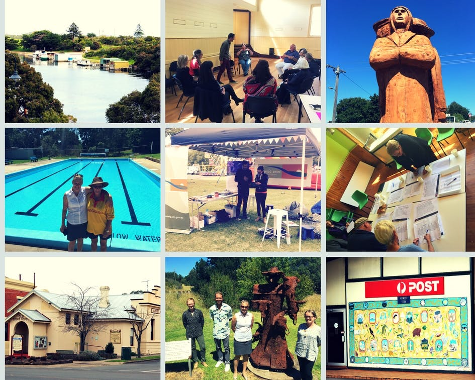 Some photos of Council's community engagement across the Glenelg Shire
