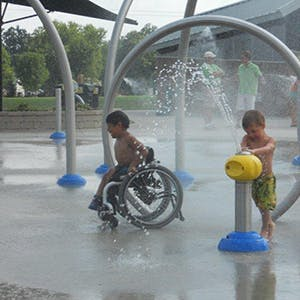 Accessible Waterplay 300