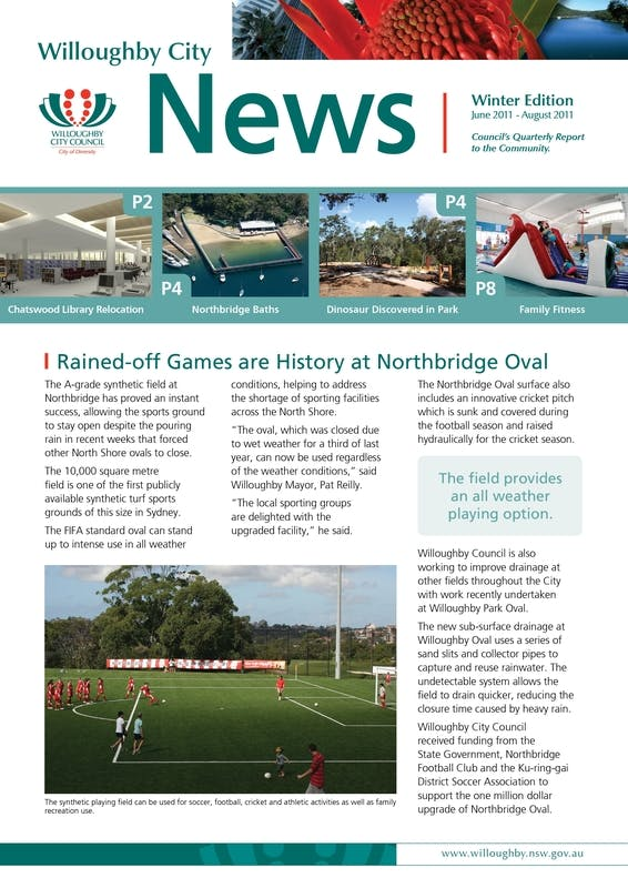 Willoughby City News Winter
