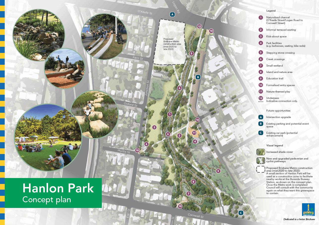 Hanlon Park final concept plan
