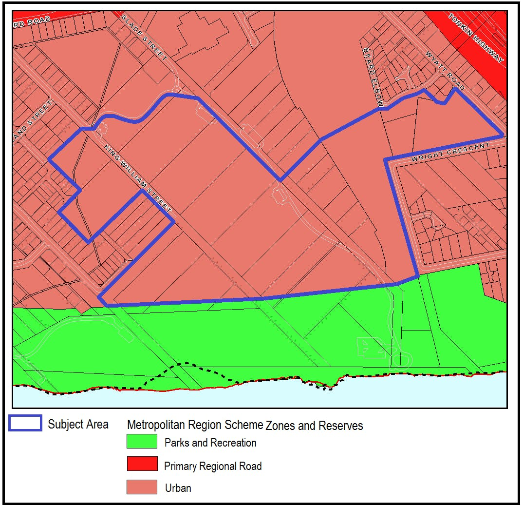 Existing MRS Zoning Map