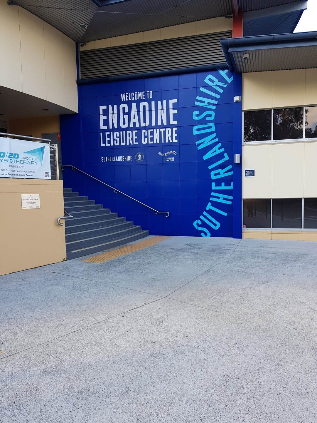 open olympic pool at engadine