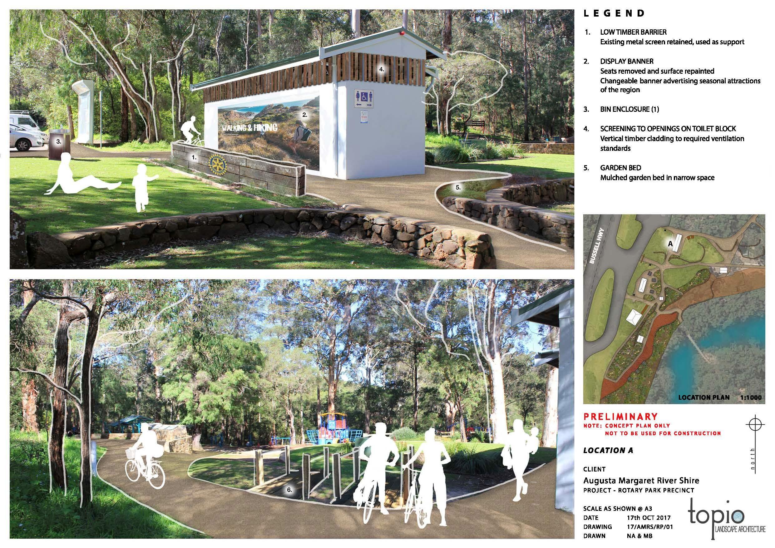 Rotary Park Master Plan Page 2