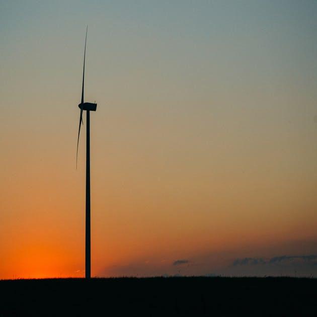 Sunset wind wind farm clean energy 630