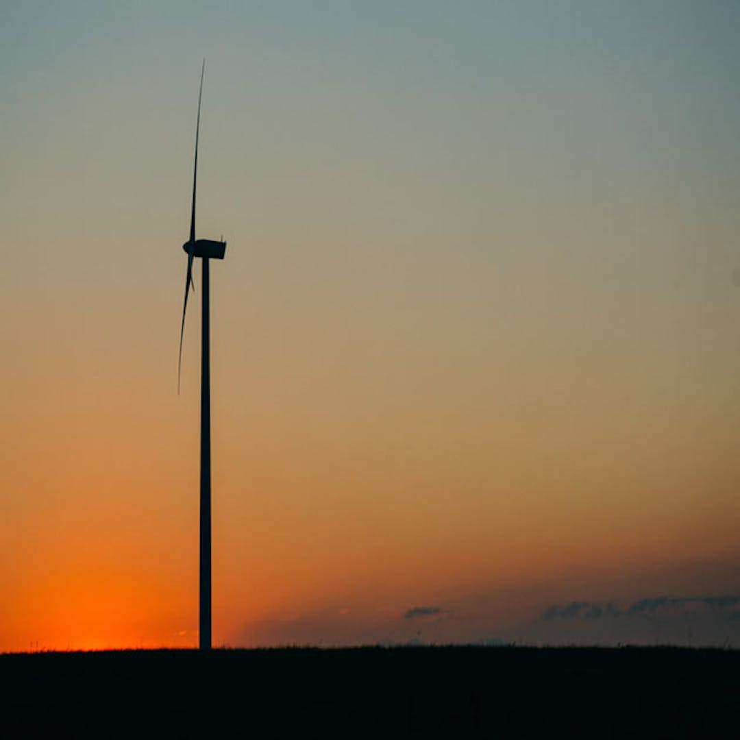 Sunset wind wind farm clean energy 630